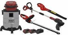 Sealey CP20VCOMBO3 Garden Power Tool Kit 20V - 2