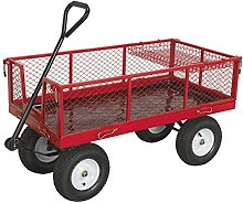 Sealey CST806 Platform Truck with Sides Pneumatic