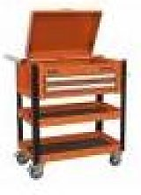Sealey Heavy-Duty Mobile Tool & Parts Trolley 2