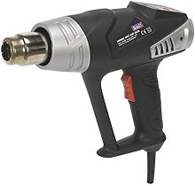 Sealey HS104K Deluxe Hot Air Gun Kit with LED