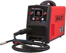 Sealey INVMIG200LCD Inverter Welder MIG, TIG & MMA 200Amp with LCD Screen