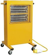 Sealey IRC153110V Infrared Cabinet Heater 1.5/3kW