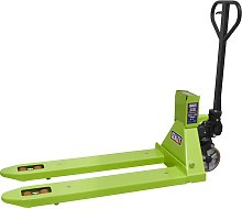 Sealey Pallet Truck 2500kg 1185 x 555mm with Scales