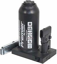 Sealey PBJ12 Premier Bottle Jack, 12Tonne, Black