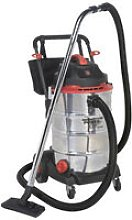 Sealey PC460 60ltr Wet & Dry Vacuum Cleaner 1600W
