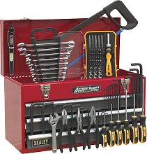 Sealey Portable Tool Chest 3 Drawer - Red/Grey &