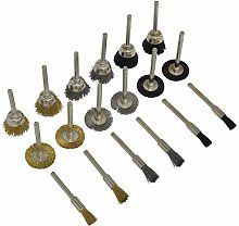 Sealey RTA18WB 18pc Rotary Tool Brush Se