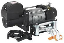 Sealey RW5675 12V Recovery Winch 5675kg Line Pull
