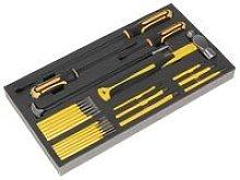Sealey S01131 Tool Tray with Prybar, Hammer &