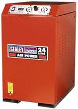 Sealey SAC82425VLN 24ltr Low Noise Cabinet V-Twin