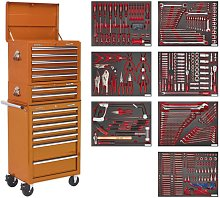 Sealey Tool Chest Combination 14 Drawer-Orange