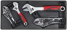 Sealey Tool Tray with Locking Pliers & Adjustable