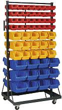 Sealey TPS118 118 Bin Mobile Storage System