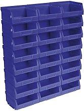 Sealey TPS124B Plastic Storage Bin, 103mm x 85mm x