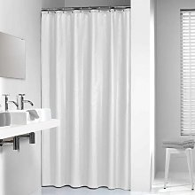 Sealskin Shower Curtain Madeira 240 cm White