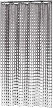 Sealskin Shower Curtain Speckles 180 cm Grey