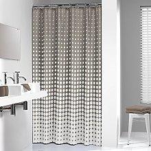 Sealskin Speckles, Shower Curtain, 180 x 200 cm,
