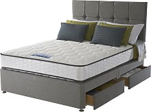 Sealy 1400 Pocket Microquilt 4 Drawer Double Divan