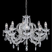 Searchlight 399-8 Marie Therese 8 Light Chandelier