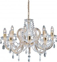 Searchlight 699-8 Marie Therese 8 Light Chandelier