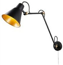 Searchlight - Adjustable 1 Light Indoor Large Wall
