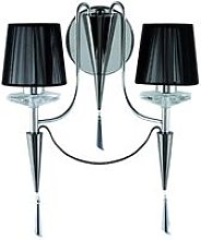 Searchlight Duchess - 2 Light Indoor Candle Wall