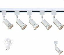 SEARCHLIGHT LED GU10 White Track Lighting 5 X SPOT