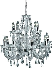 Searchlight Marie Therese - Crystal Chandelier 12