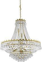 Searchlight Versailles - 13 Light Chandelier Gold