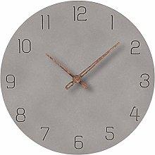 Searchyou - 29cm Modern Simple Wall Clock - Light