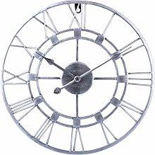Searchyou - 40cm Vintage Metal Wall Clock - Silent