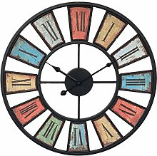 Searchyou - Large Art Deco Wall Clock, 50CM/20Inch
