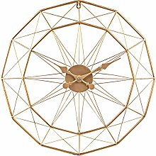 Searchyou - Large Art Deco Wall Clock, 60CM/24Inch