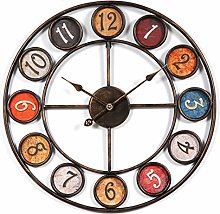 Searchyou - Large Shabby Chic Wall Clock,