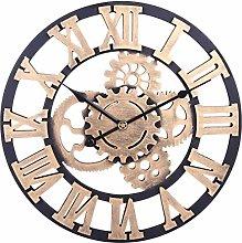 Searchyou - Large Wall Clock, 60CM/24Inch XL Big