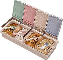 Seasoning Box Clear Spice Box Storage Container