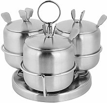 Seasoning Jar Rotating Sugar Bowl Salt Pot