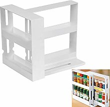 Seasoning Storage Rack, Multifunctional Rotatable