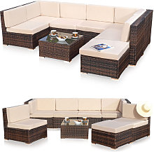 Seating set Lounge Garden furniture Garden set
