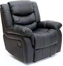 Seattle Bonded Leather Recliner Armchair Sofa Home