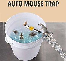 seawe Rolling Mouse Trap, Mouse Trap Bucket Rat