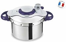 SEB Clipso P4624900 Pressure Cooker + L, Stainless