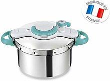 SEB clipsoMinut' Easy Pressure Cooker, stainless
