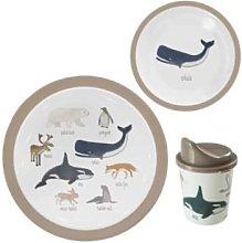 Sebra - Melamine Tableware Set