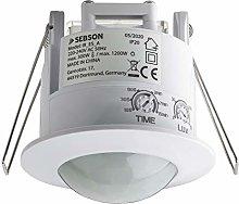 SEBSON PIR Sensor Indoor, Ceiling Flush Mounted,
