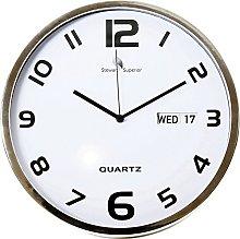 Seco 30 cm Quartz Aluminium Wall Clock with