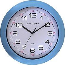 Seco Wall Clock, Blue, 30 cm