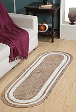 Second Nature Online KHIDAKEE Long Braided Oval
