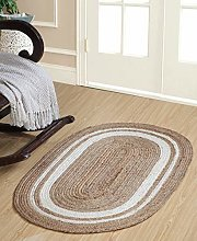 Second Nature Online KHIDAKEE Small Braided Oval