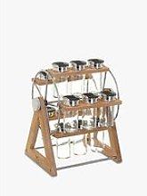 Secret de Gourmet Freestanding Bamboo Wheel Spice